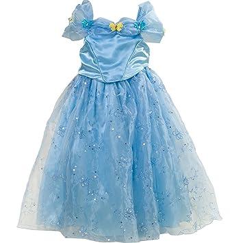 Frbelle® Disfraz de Princesa Vestido Largo para Fiesta Noche Boda Ceremonia Cosplay Canval Halloween Disfraz