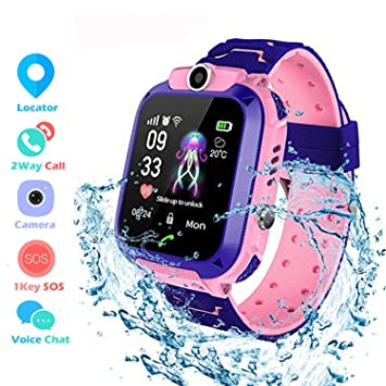 Winnes Inteligente Reloj para Niños, IP67 Impermeable Smart Watch ...