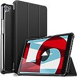 IVSO Huawei MediaPad M5 8.4 タブレット ケース 新型 Huawei 8.4インチ MediaPad M5 8.4 スタンド機能付き 保護ケース 三つ折 マグレット開閉式 薄型 超軽量 全面保護型 Huawei 8.4型 スマートケース ブラック