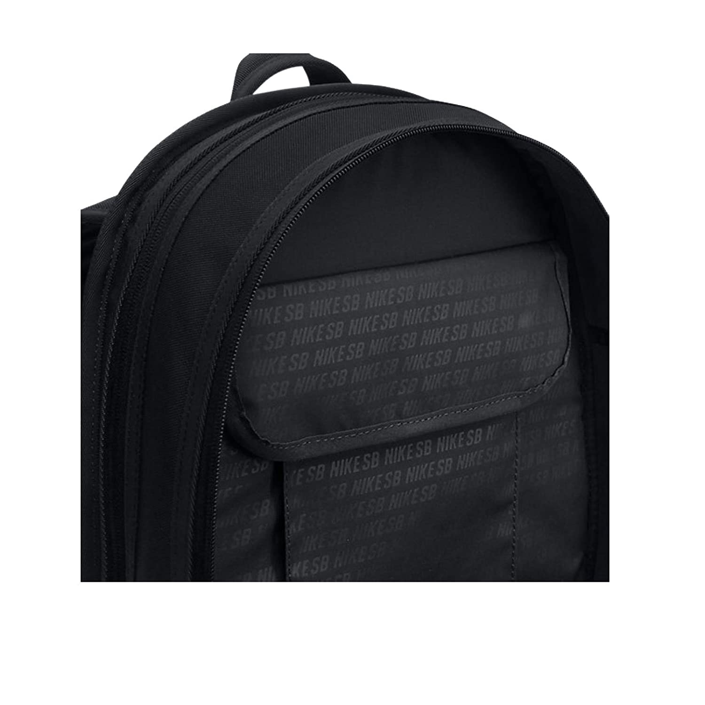 54e35d6e7e3b0c Nike SB RPM Solid Backpack Black Black  Amazon.in  Bags