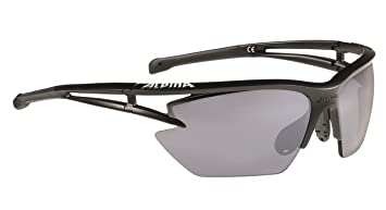 Alpina Eye-5 HR S cm Outdoorsport-Brille, White Matt, One Size