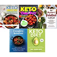 Set of 5 books collection : Keto Diet: Your 30-Day Plan to Lose Weight,The Beginner's...