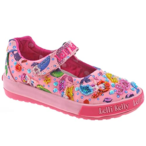 32050b2c39ca7 Lelli Kelly Kids LK5008 Mermaid Bar Shoes In Pink: Amazon.co.uk ...