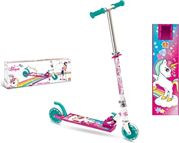 Amazon.com: Mondo Unicorn Aluminium Scooter 2 Wheels: Toys ...
