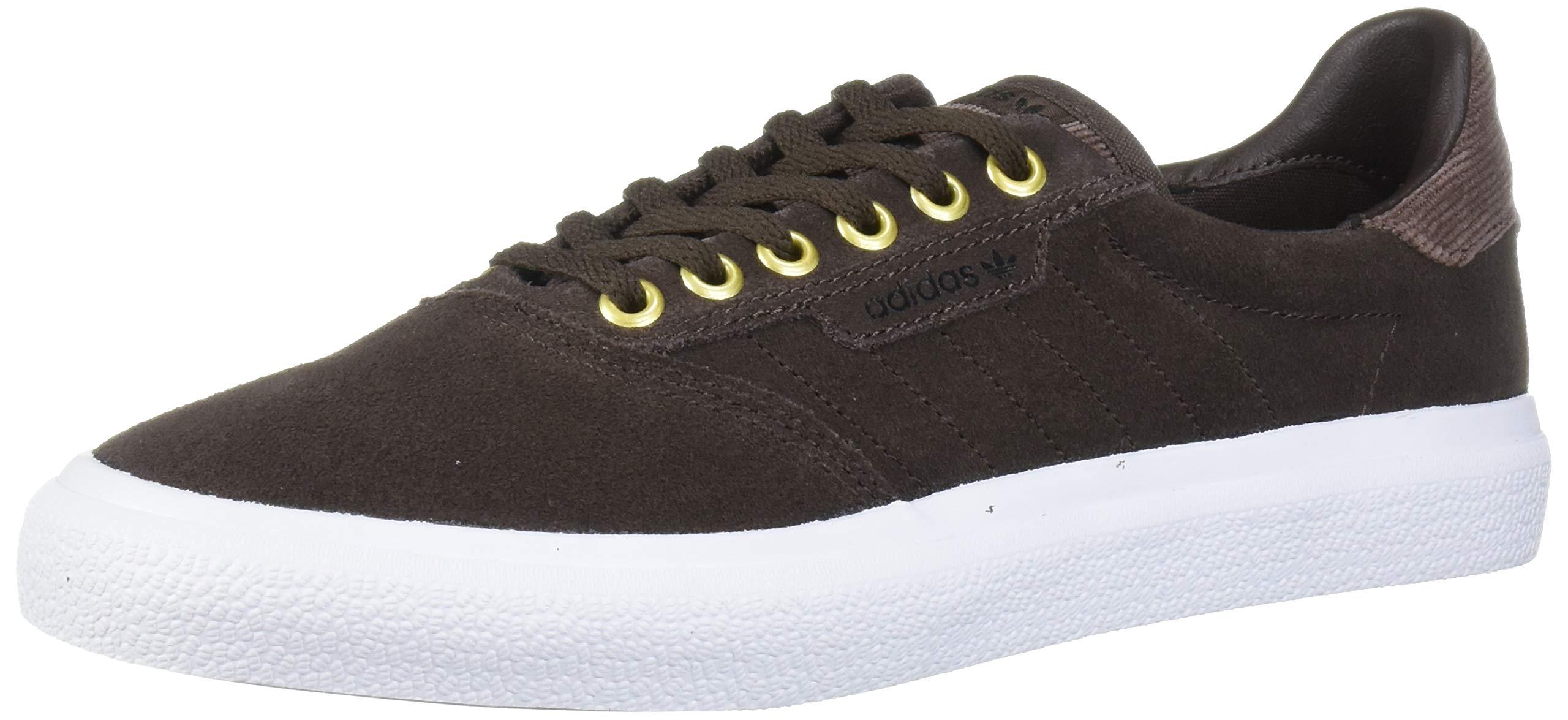 adidas Originals 3MC Sneaker, Brown/White/Gold