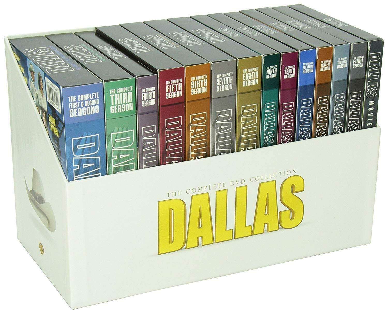 Dallas - Complete TV Series - Season 1-14 + 3 Movies (DVD)