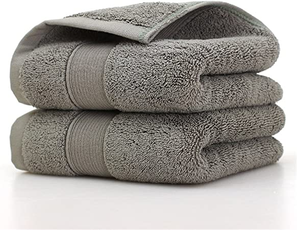loiofoe 100% algodón egipcio juego de toallas de lujo super suave ...