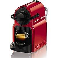 Nespresso XN1005 Krups Inissia - Cafetera de Cápsulas, 19 bares, Compacta, Apagado Automático, Rojo [Clase de eficiencia energética A] (Reacondicionado Certificado)