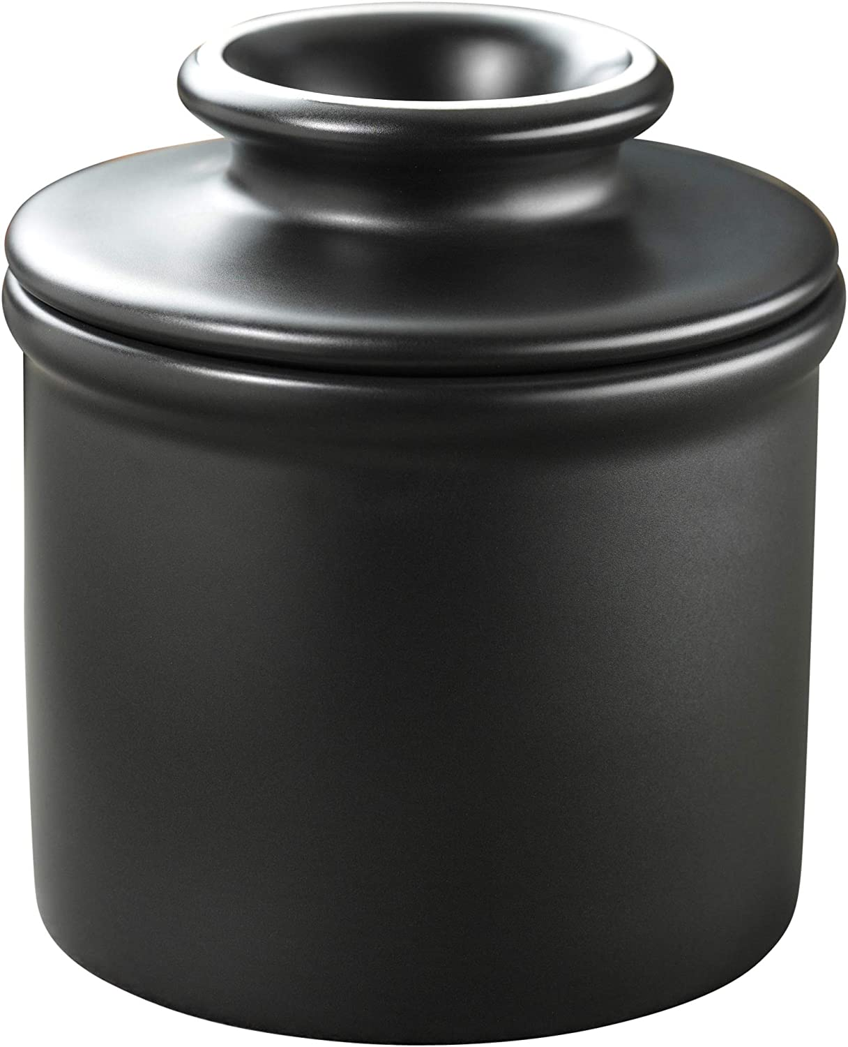 Butter Bell - The Original Butter Bell Crock by L. Tremain, French Ceramic Butter Dish, Classic, Ebony