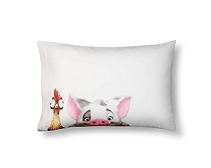 amazon com disney moana reversible pillowcase home kitchen