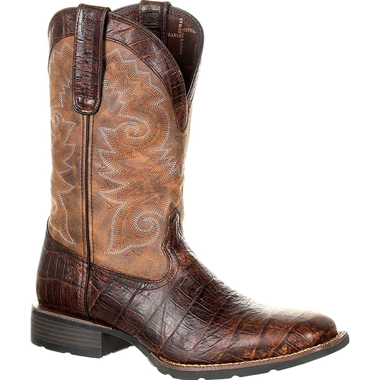 Durango メンズ B079VX8BXP 13 D(M) US|Gator Emboss/Chocolate Brown Gator Emboss/Chocolate Brown 13 D(M) US