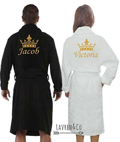 Personalised dressing gown 4fd72b89c