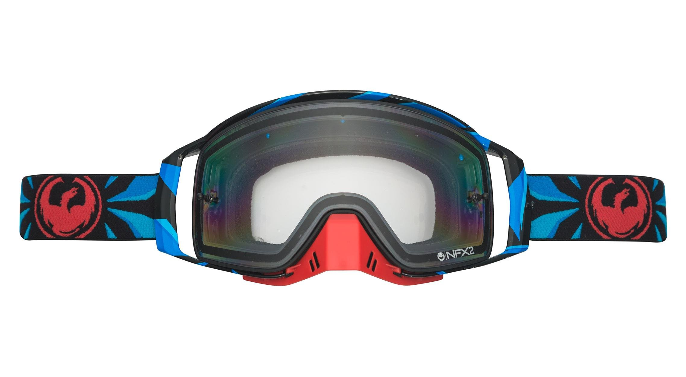 Dragon Alliance Factor Unisex NFX2 Goggles Eyewear, Injected Clear, One Size