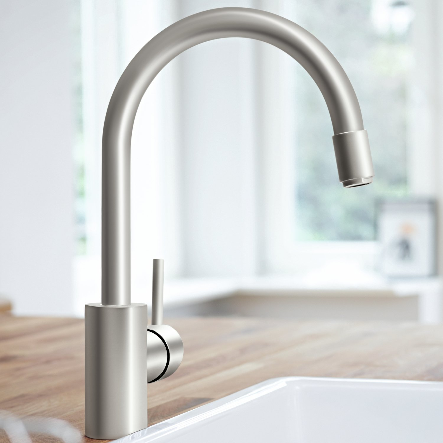 Amazon.com: GROHE one hand-SPT-mixer Concetto 32663 bow spout ...