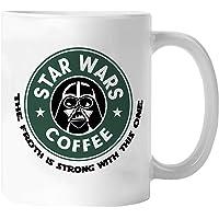Star Wars Coffee Mug - Darth Vader - Drink Coffee You Must - 11oz Ceramic Coffee Mug