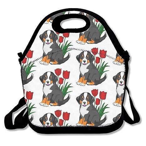 Perro de montaña bernés cremallera portátil bolsa de ...