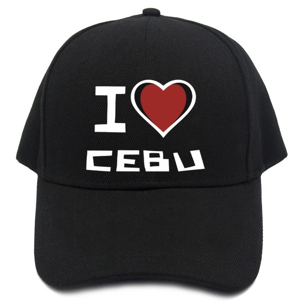 Teeburon I love Cebu Baseball Cap