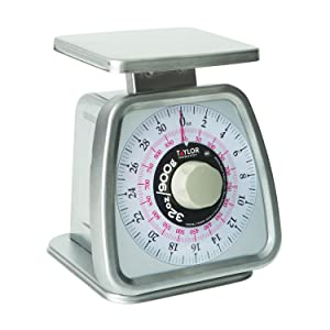 Taylor TS32D Mechanical Portion Control Scale with Dashpot, NSF - (32 oz /900 g)