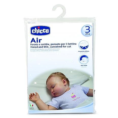 Cuscino Testa Piatta Chicco.Chicco 00007339000000 Cuscino Per Lettino Air 3m Bianco Amazon