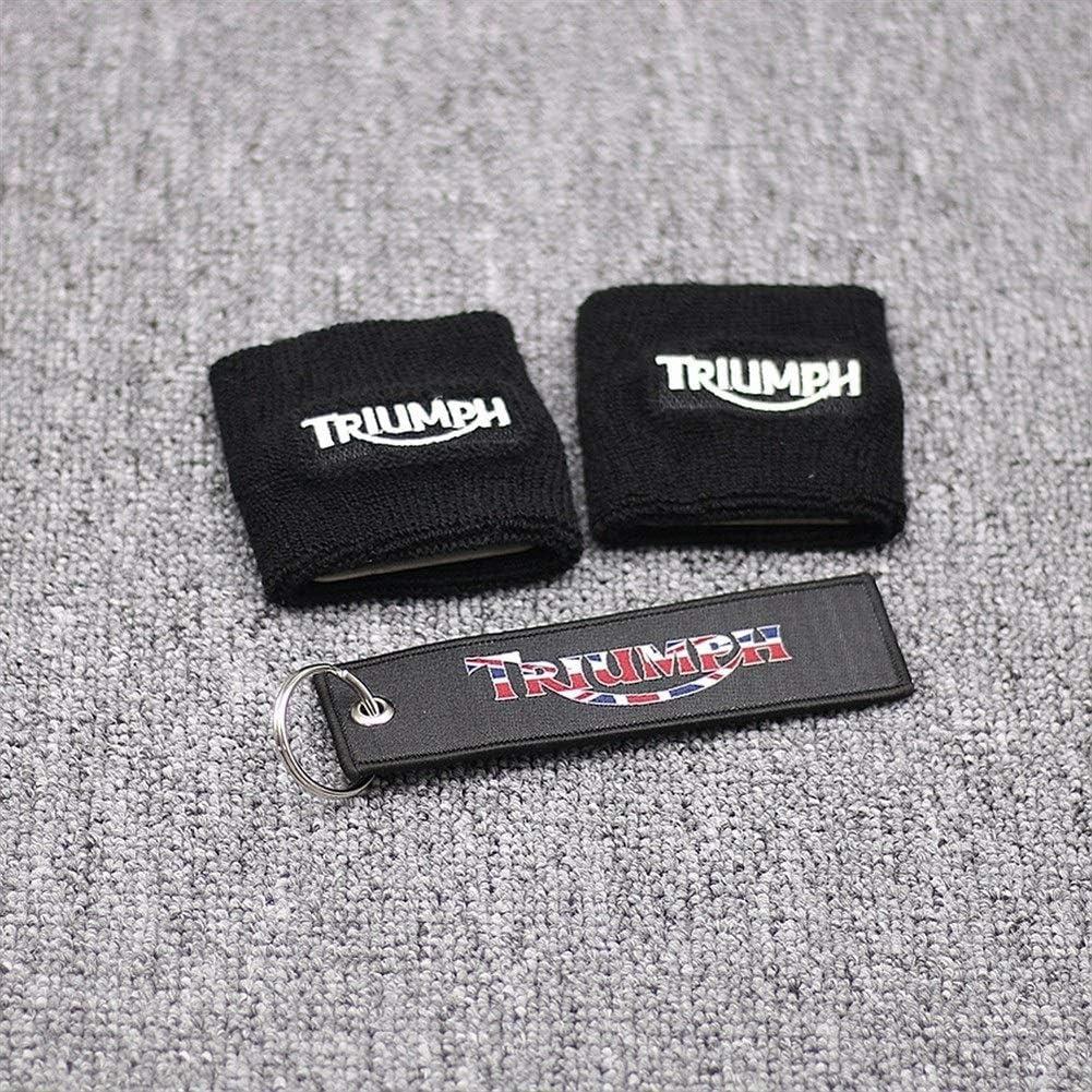 Schwarz Bremsbeh/älter Socken Abdeckungen for Triumph Daytona 675 600 1000 Street Triple Speed Triple BK-Motorrad-Teile