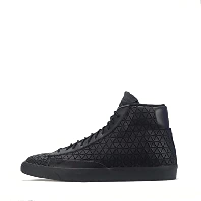 sneakers for cheap 6447f db984 Nike Blazer Mid Metric QS Triple Black Men s Trainers (UK ...