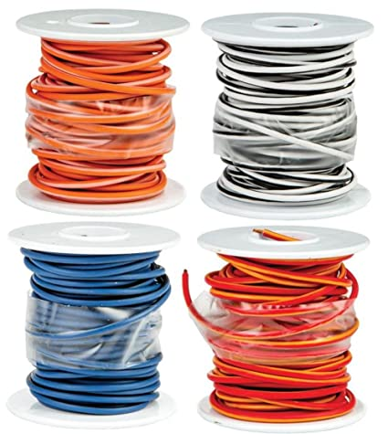 Amazon.com: Novello DN-WHW13 Factory Color Coded Wire Spool ... on