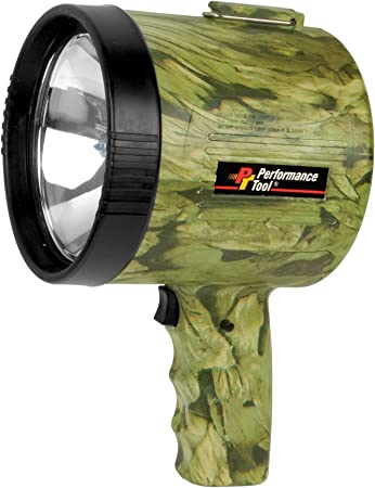 Amazon Com Performance Tool W2432 1 Million Candlepower Spotlight Camo Home Improvement