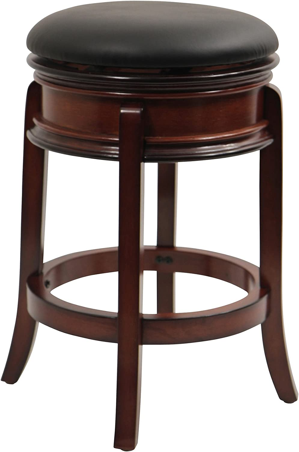 Winsome Wood Tabby Stool, 30-Inch, Cherry