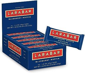 16-Count Larabar 1.6oz Gluten Free Blueberry Muffin Bar