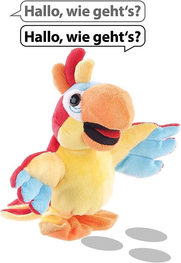Sprechender Plüsch-Papagei mit Mikrofon,... Playtastic Sprechende Plüschtiere