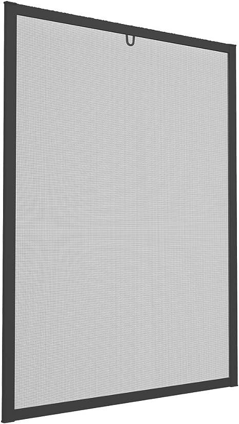 Farbe:Anthrazit Easy Life Pollenschutzgitter ALLERGICpro mit proLINE Alu Rahmen Fenster Insektenschutz Spannrahmen Pollenstop und Fliegengitter Gr/ö/ße:100 x 120 cm