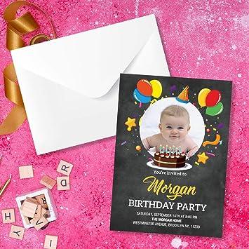 Amazon Com Birthday Invitation Cards With Envelopes For