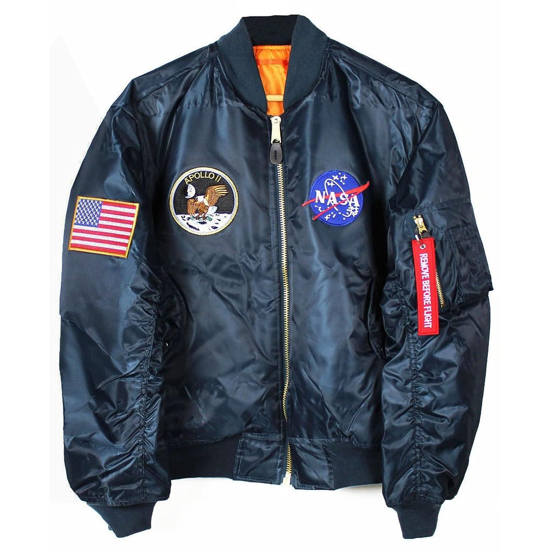 Apollo 11 NASA MA-1 Bomber Jacket | Amazon.com