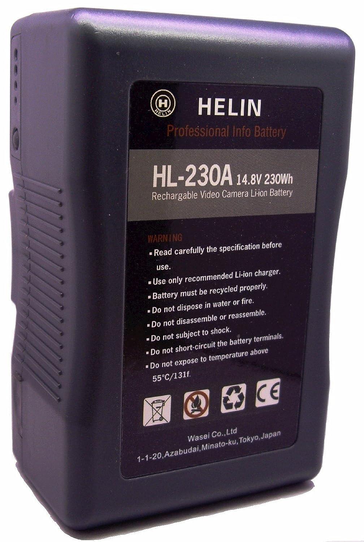 Helin ゴールドマウントリチウムイオンバッテリー HL-230A B007K4IK6A