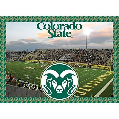 Colorado State Rams Jigsaw Puzzle - No Box : Item Type Keyword Refrigerator Magnets : Sports & Outdoors