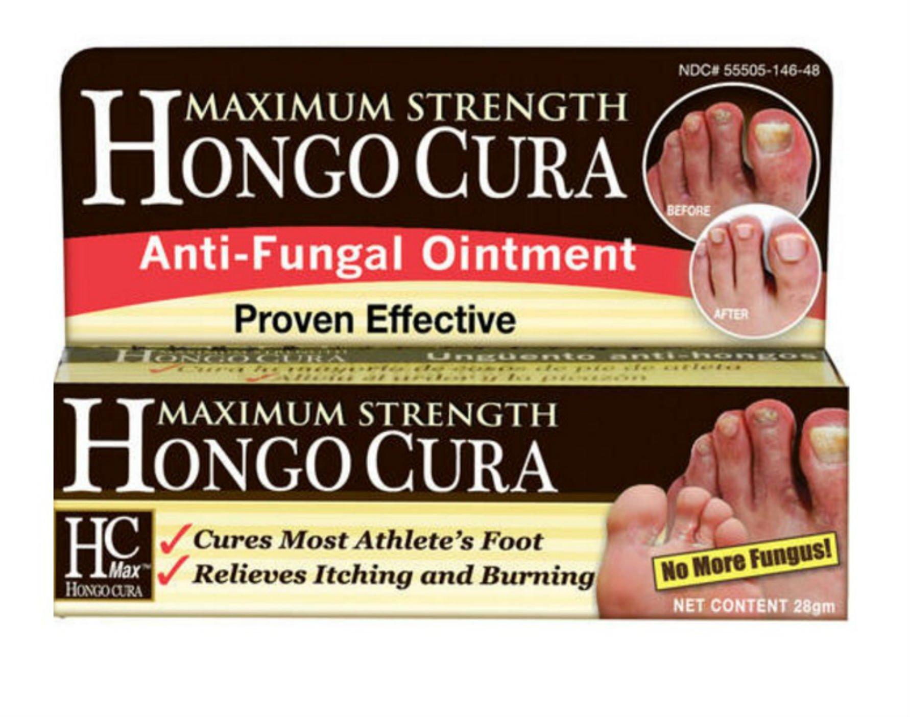 Maximum Strength Hongo Cura Anti-Fungal Ointment, 28gm
