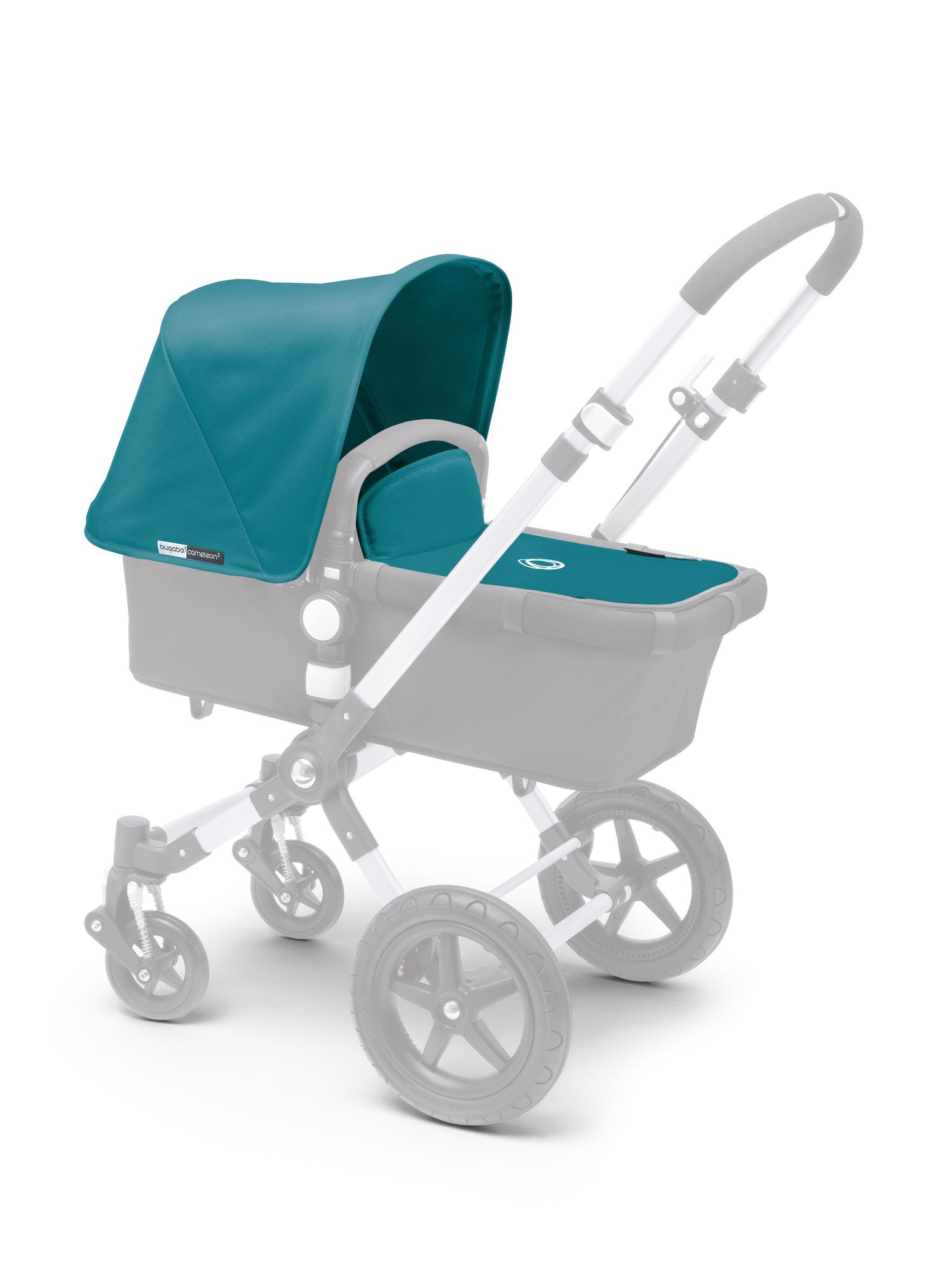 Bugaboo Cameleon³ Tailored Fabric Set, Petrol Blue by Bugaboo