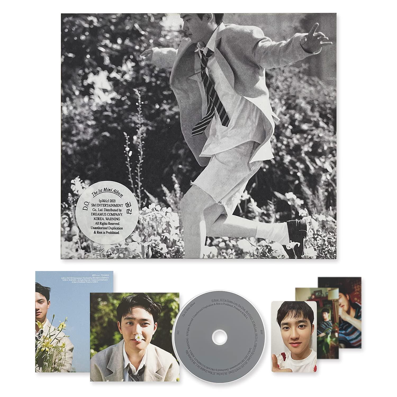 EXO D.O The 1st Mini Album - EMPATHY [ DIGIPACK Ver. - GRAY Ver. ] CD-R + Photobook + Folded Poster + Photocard + OFFICIAL POSTER
