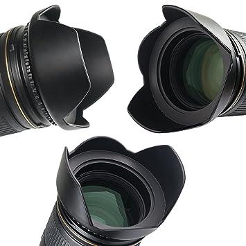 TOP-MAX 67 mm parasol parasoles para Canon 60D 70D 650D 700D EF-S ...