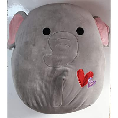 "Kellytoy 5"" Squishmallow Valentine's Day Plush Doll Pillow Emma The Elephant: Toys & Games"