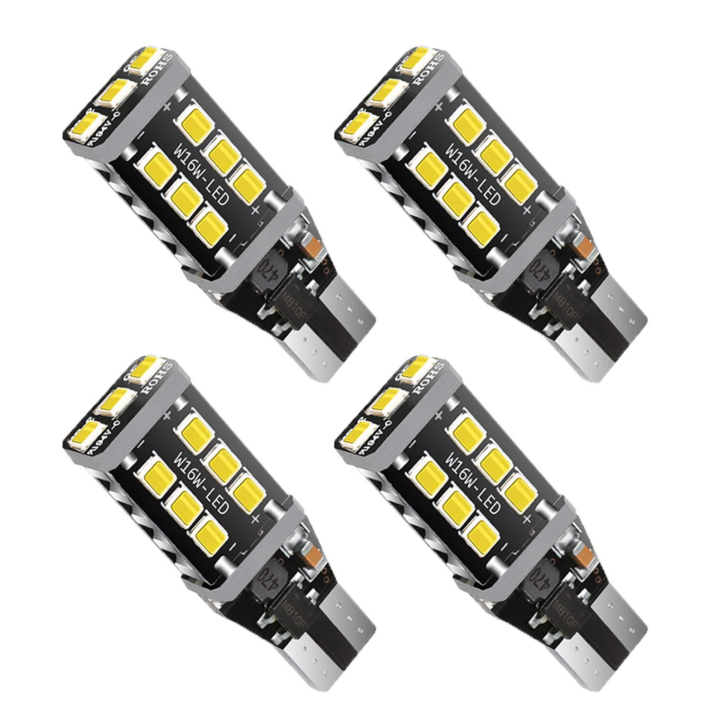 12Pcs 194 LED Bulb, Super Bright 5630 Chipset 168 LED Bulb, 194 168 T10 2825 W5W LED Bulb for Car Interior Lights- White 6500k Anourney