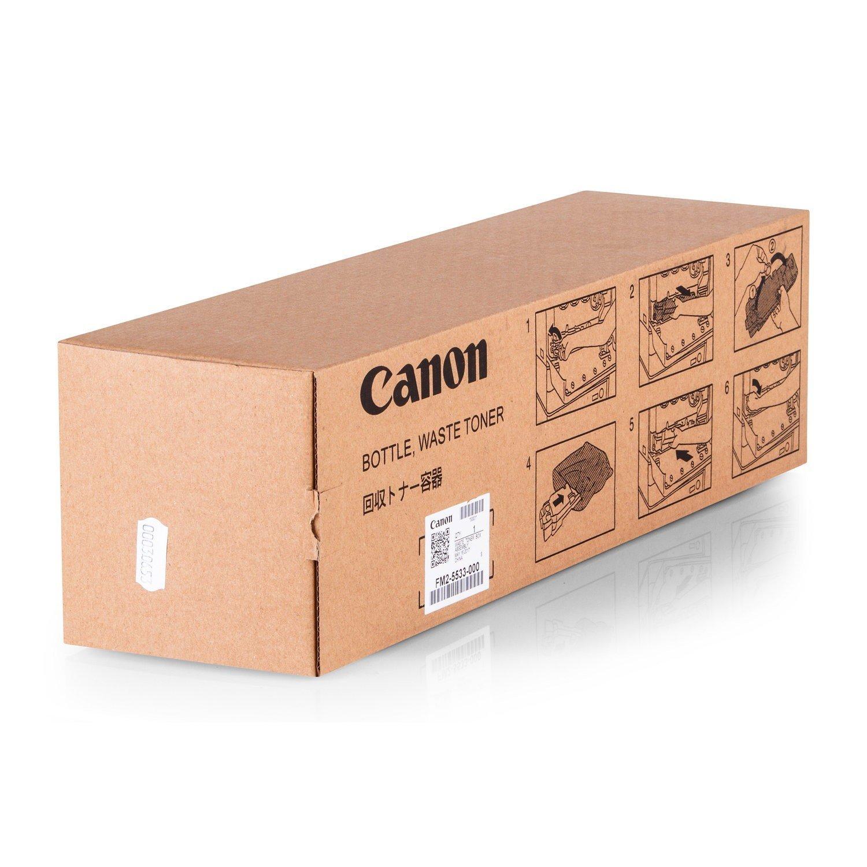 Contenitore originale toner di scarto adatto per Canon IR-C 2880i Canon FM25533000, FM25–533–000–Contenitore di qualità–Incolore
