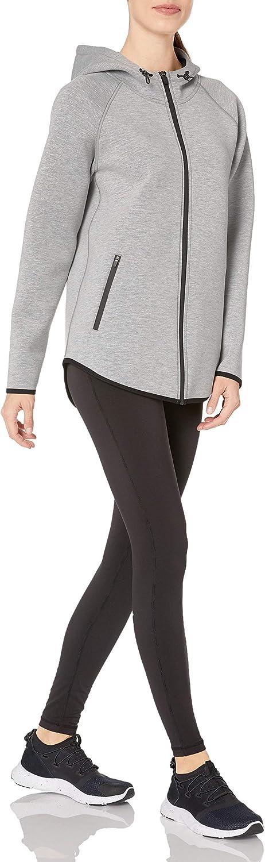 outerwear-jackets Femme Essentials Longer Length Bonded Tech Fleece Full-zip Hooded Jacket