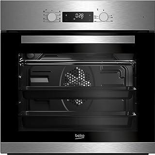 Beko BIM22301X Backofen Elektro / A / 71 L / Silber / SimpleSteam Reinigungsfunktion / 3D-Kochen / Pflegeleichte Emaillierung / Kindersicherung / Backofentür abnehmbar / Kühlgebläse