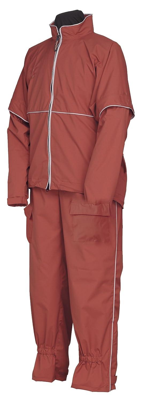 プリータ ゴルフレインスーツ 全3色 全3サイズ レインスーツ オールドローズ L 防水透湿 3層レイヤー 収納袋付き 5800 [正規代理店品] B018JRCIQO オールドローズ Large