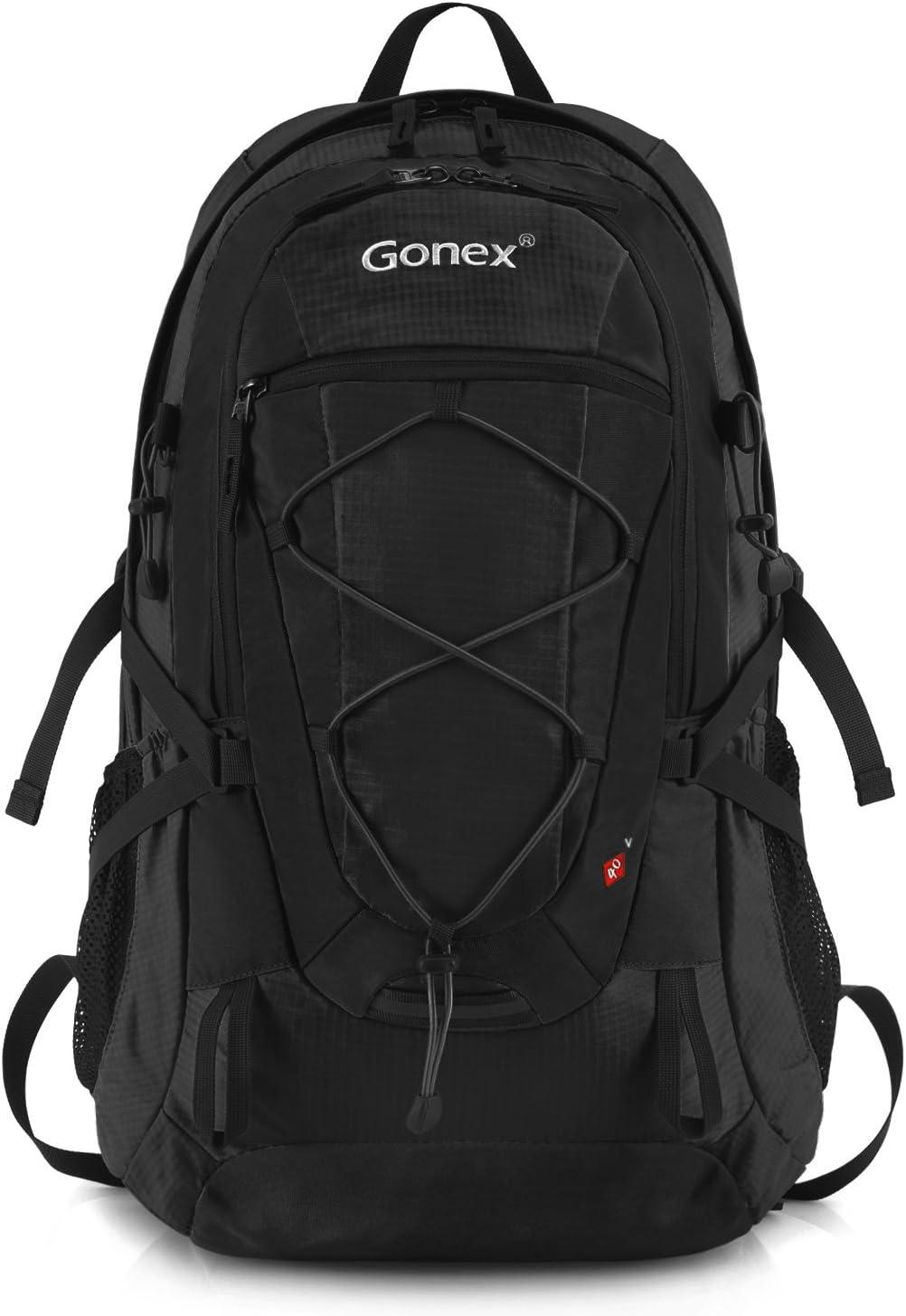 unisexe Gonex Sac /à dos de randonn/ée 40/L avec housse de pluie /étanche et compartiment pour ordinateur portable