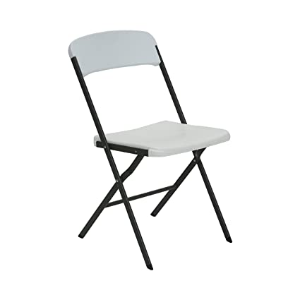 Lifetime 484016 Contemporary Folding Chair White Granite Pack of 4  sc 1 st  Amazon.com & Amazon.com: Lifetime 484016 Contemporary Folding Chair White ...
