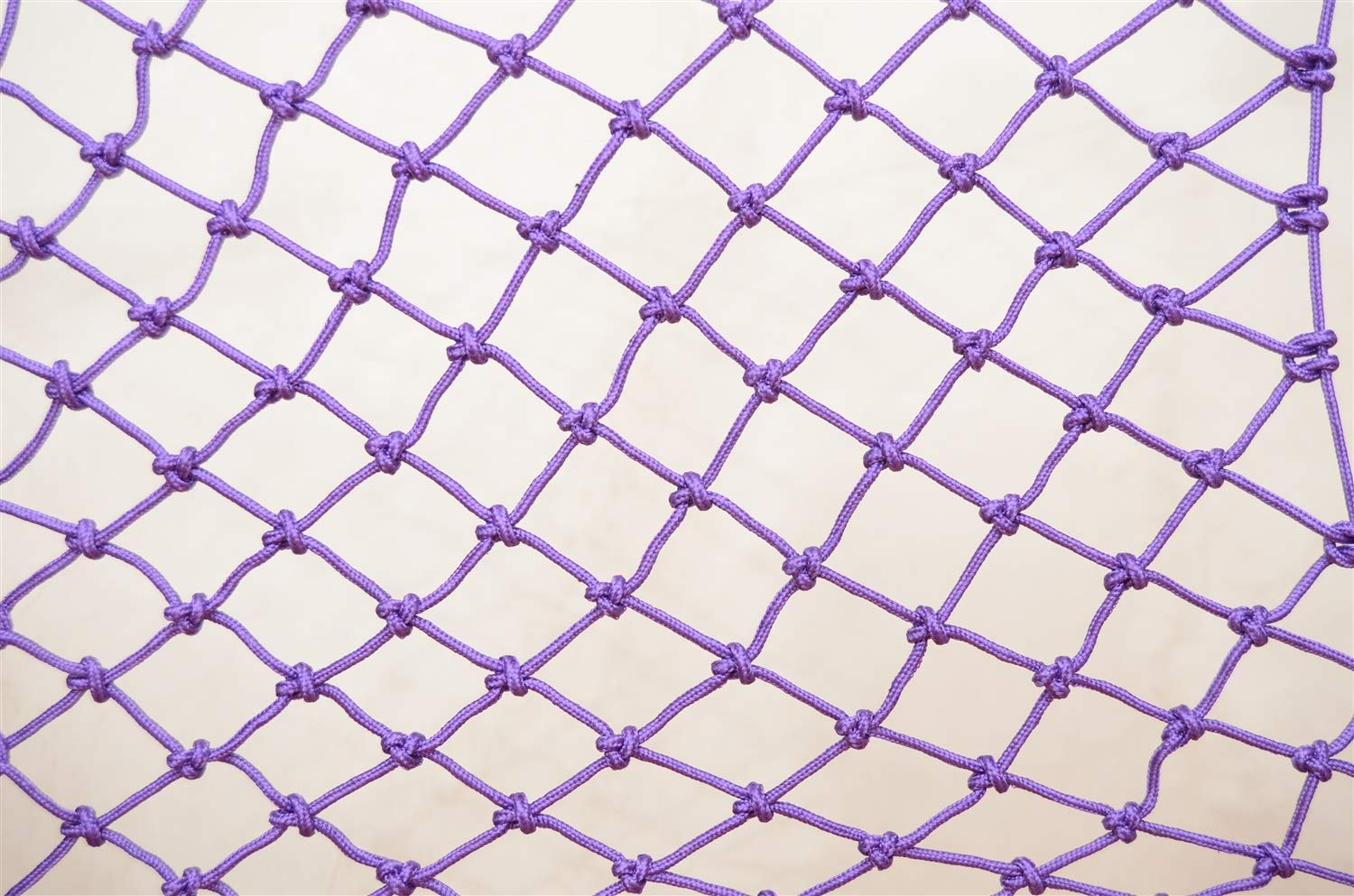 WBHGNDHH Child Safety Net-2m L X 3m H Removable Balcony and Stairway Safety Net Indoor and Outdoor Stairs Balcony Baby Fall Protection Safety Net ( Color : Purple ) by WBHGNDHH