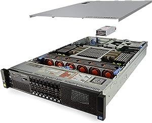 TechMikeNY Server 4X E5-4650 2.70Ghz 32-Core 160GB 2X 1TB H710 PowerEdge R820 (Renewed)