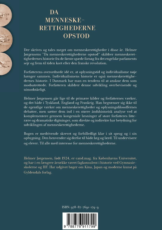 Da Menneskerettighederne Opstod Danish Edition Helmer Jorgensen